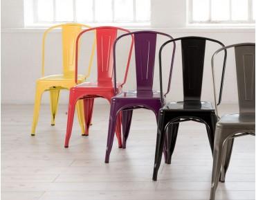 Un ícono del estilo industrial: La silla Tolix