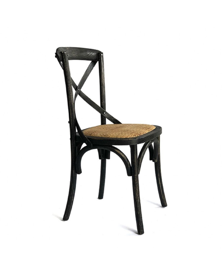 Silla Cross Antique New Black x 2 unidades