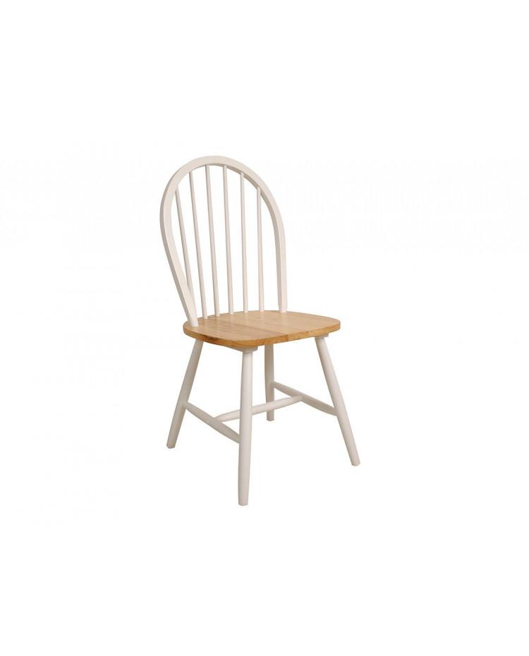 Silla Windsor Curva Blanca Beech Seat x 2 unidades