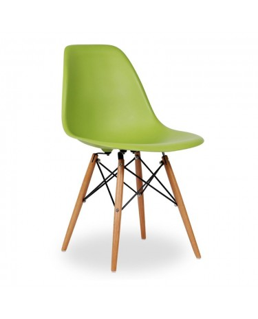 Silla Eames DSW Light Green x 4 unidades