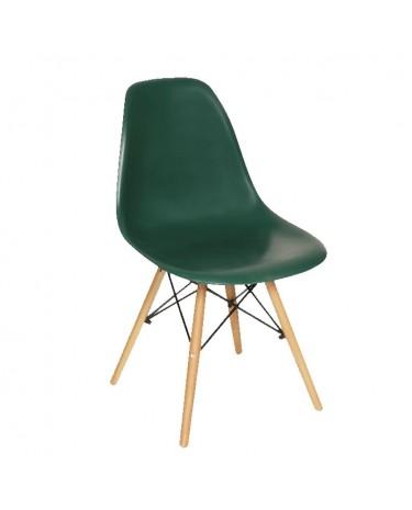 Silla Eames DSW Verde x 4 unidades