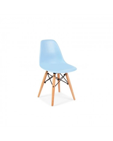 Silla Eames Kids Light Blue x 4 unidades