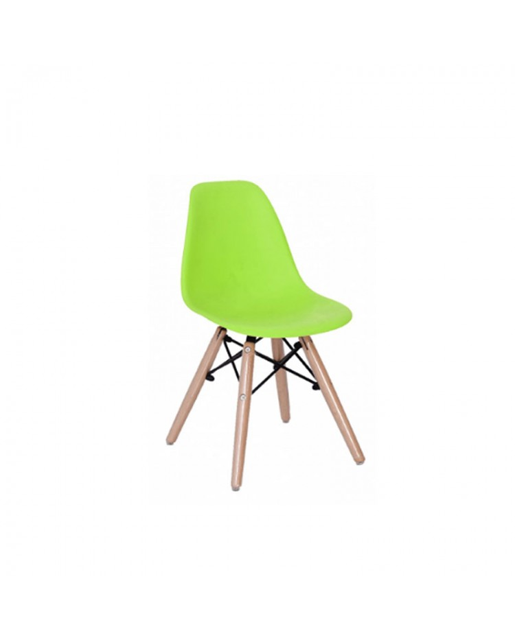 Silla Eames Kids Verde x 4 unidades