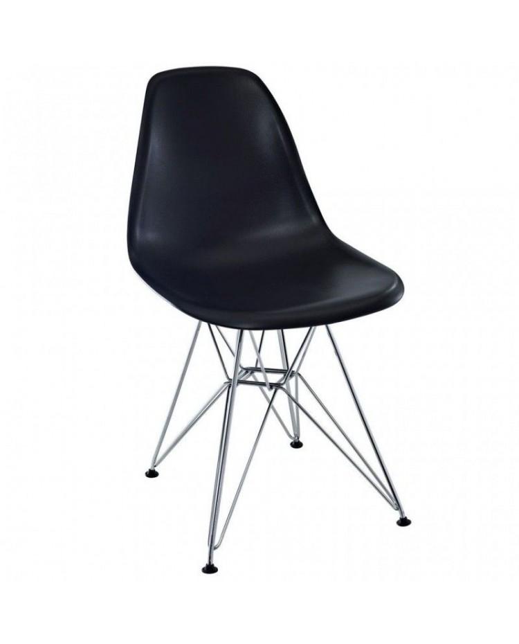 Living style silla eames patas cromadas for Sillas cromadas