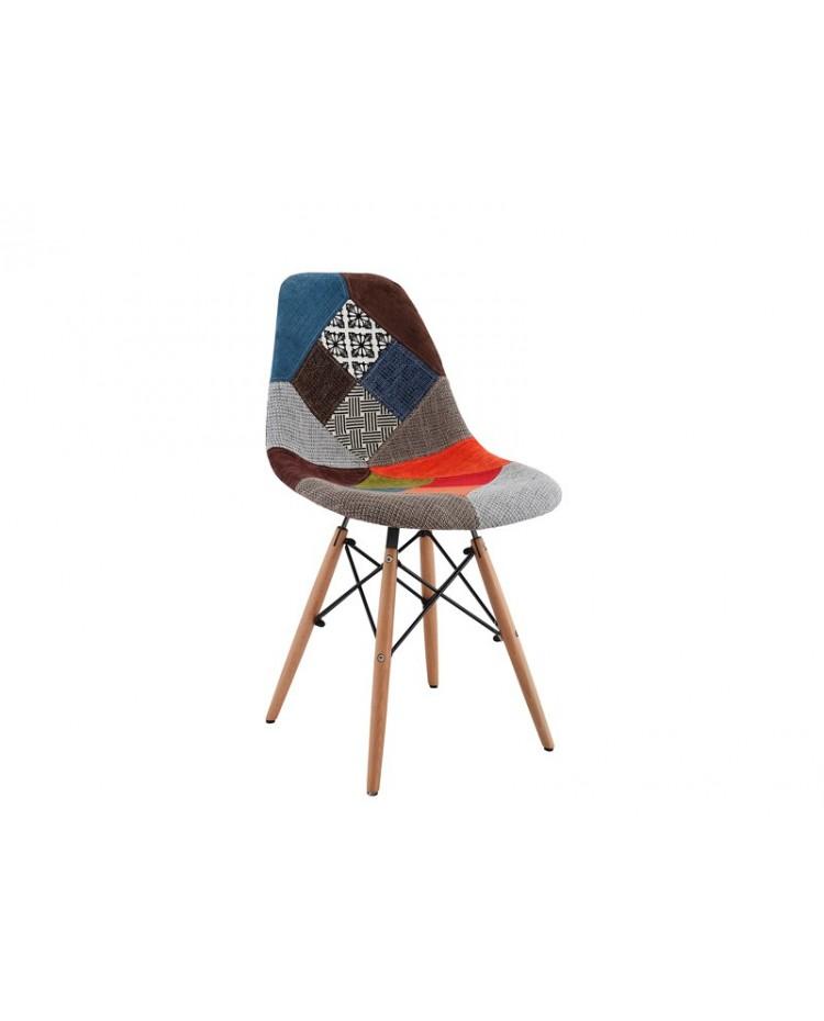 Silla Eames Patchwork x 4 unidades